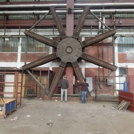 8 M Diameter Boring Mill Table Extension