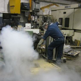 Freezing Part in Liquid Nitrogen